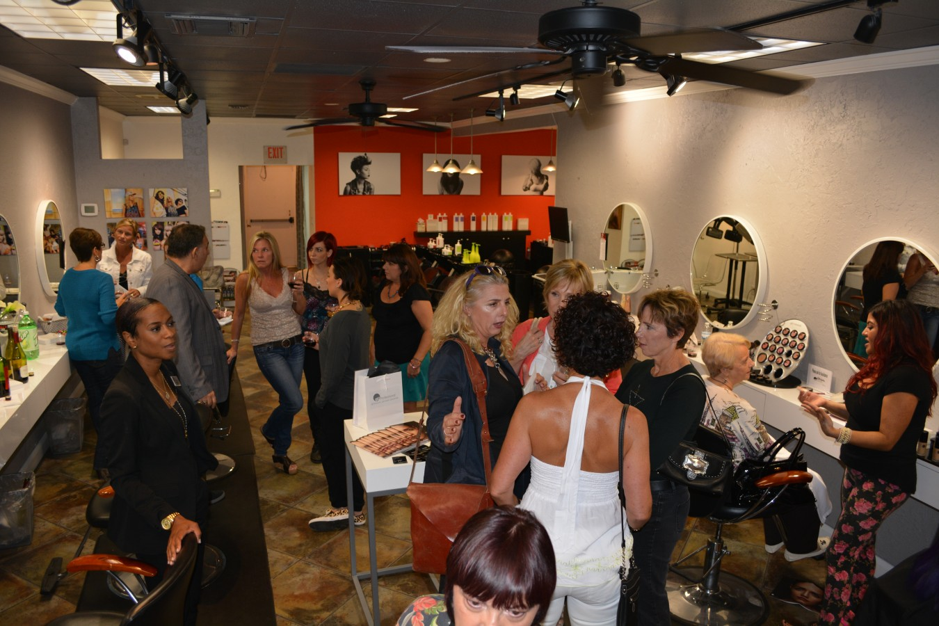 glo minerals season kick off party visions salon