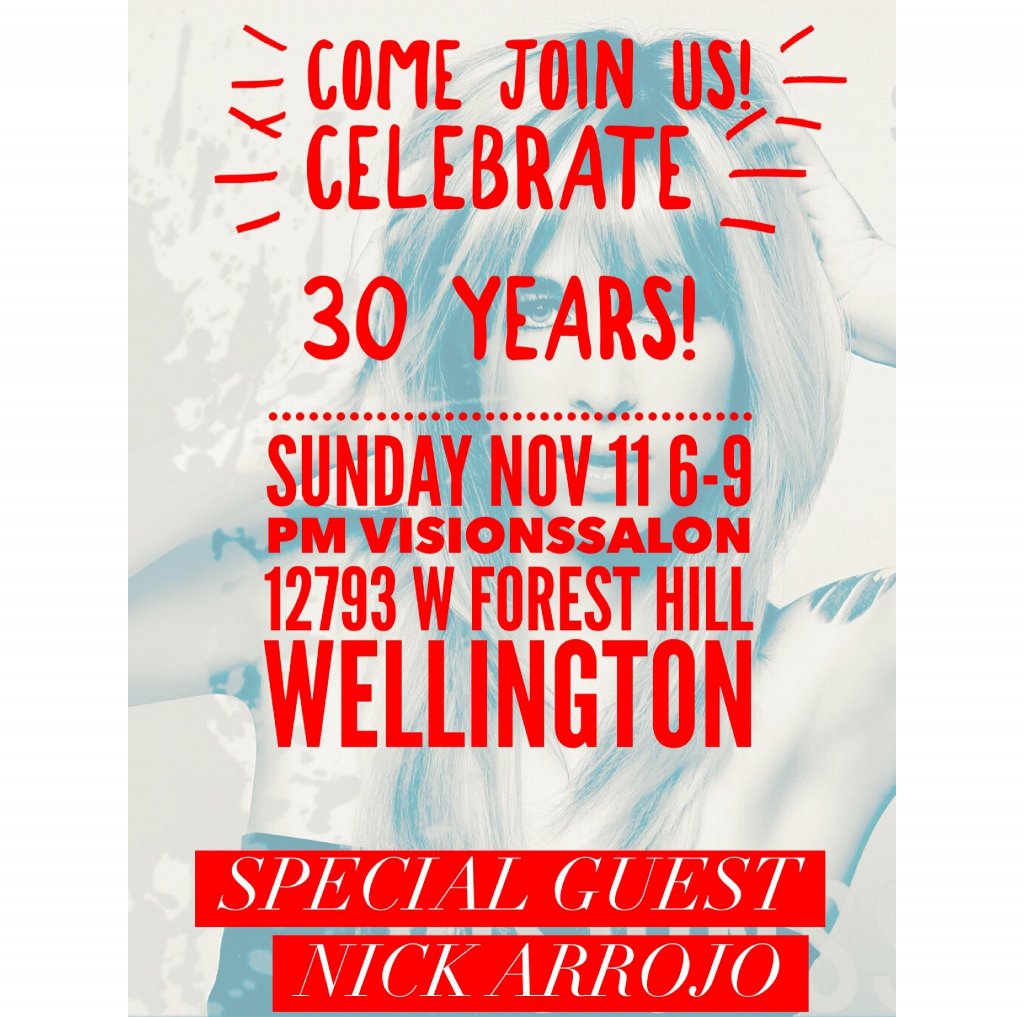Celebrate 30 Years Making Wellington BEAUTIFUL!