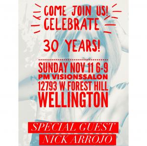 Celebrate 30 Years Making Wellington BEAUTIFUL!